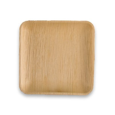 6 Inch Square Palm Plate