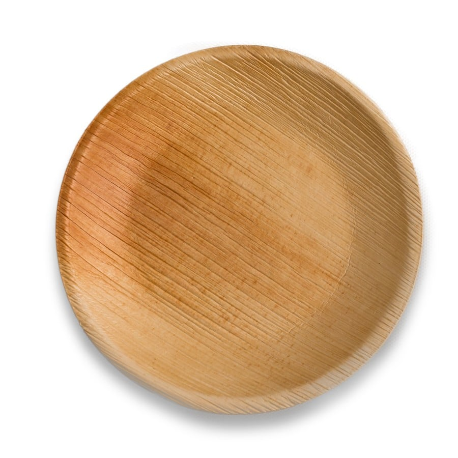 9 Inch Round Palm Plate